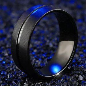 Men&Women Stainless Steel Wedding Band Ring